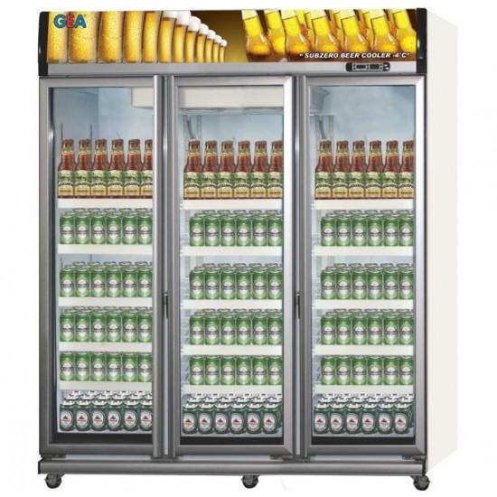 Showcase 3 Pintu GEA 1500 Liter Beer Cooler EXPO-1500BC