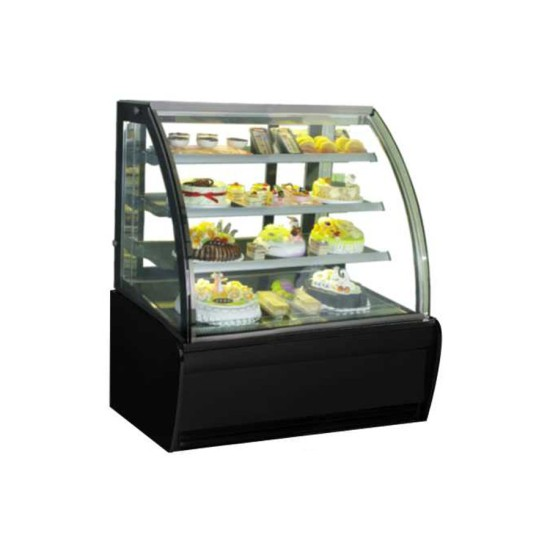 Cake Showcase Curved GEA Glass S-940A