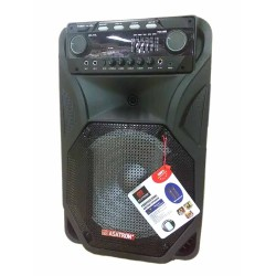 Asatron Portable Amplifier Wireless HT-8871UKM Front Control Sound