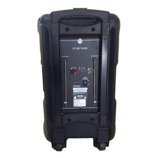 Asatron Portable Amplifier Wireless HT-8871UKM Front Control Sound