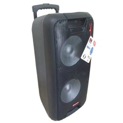 Asatron Portable Amplifier Wireless HT-8872UKM With Two Speakers Up Front