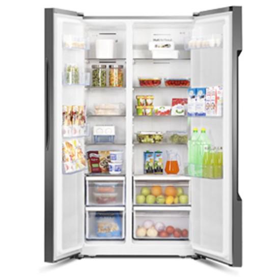 Gea Refrigerator Rc 67ws Kulkas Side By Side 2 Pintu