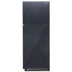 Sharp Refrigerator SJ-246XG Kulkas 2 Pintu Shine Glass Door Series - 205 Liter