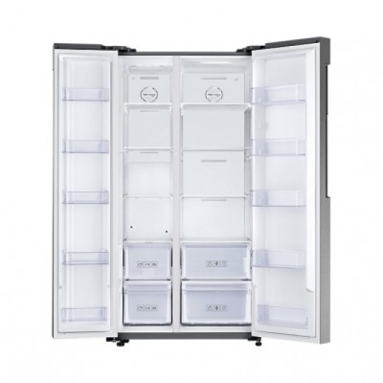 Samsung Refrigerator RS61R5001M9 Kulkas 700 Liter Side by Side dengan All-around Cooling