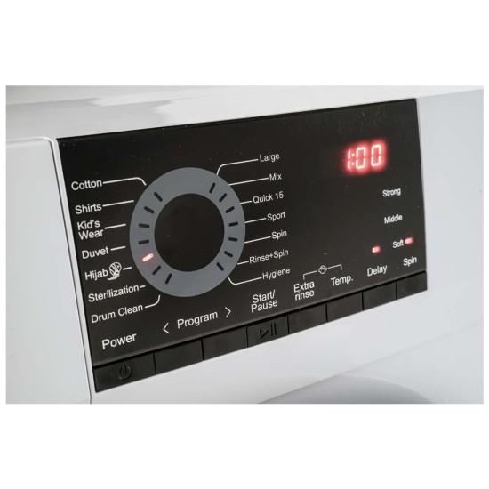 Mesin Cuci 1 Tabung AQUA 7 Kg Front Loading FQW-700829QD