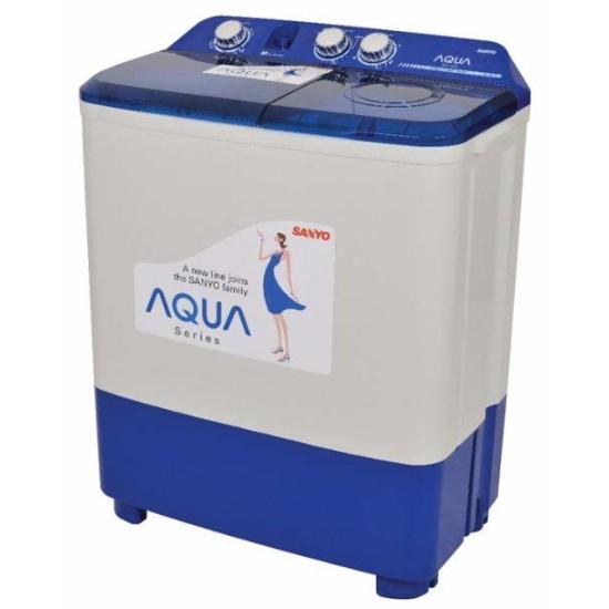 Mesin Cuci 2 Tabung Aqua 8 kg Twin Tub QW-880XT